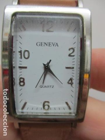 Relojes automáticos: ANTIGUO RELOJ DE PULSERA DE SEÑORA - GENEVA - VER FOTOS - Foto 9 - 73585019