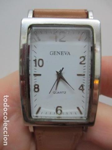 Relojes automáticos: ANTIGUO RELOJ DE PULSERA DE SEÑORA - GENEVA - VER FOTOS - Foto 10 - 73585019