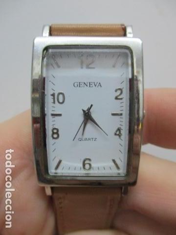 Relojes automáticos: ANTIGUO RELOJ DE PULSERA DE SEÑORA - GENEVA - VER FOTOS - Foto 11 - 73585019