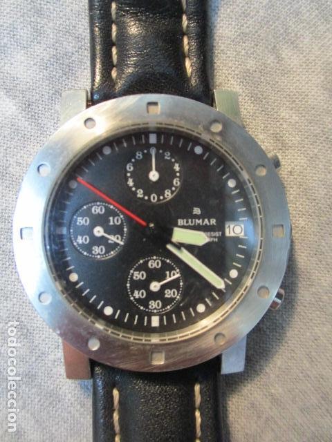 RELOJ BLUMAR CRONOMETRO Y DIA, WATER 50 MTS (Relojes - Relojes Automáticos)