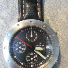 Relojes automáticos: RELOJ BLUMAR CRONOMETRO Y DIA, WATER 50 MTS . Lote 73587859