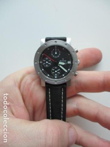 Relojes automáticos: RELOJ BLUMAR CRONOMETRO Y DIA, WATER 50 MTS - Foto 7 - 73587859
