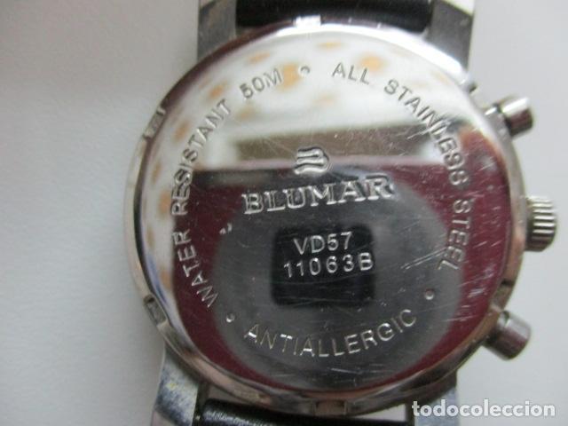 Relojes automáticos: RELOJ BLUMAR CRONOMETRO Y DIA, WATER 50 MTS - Foto 10 - 73587859