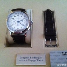 Relojes automáticos: LONGINES LINDBERGH ATLANTIC VOYAGER CHRONOGRAFO. Lote 74180083