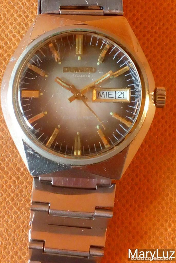 Relojes automáticos: DUWARD OCEANIC AUTOMÁTICO. Calendario mensual y semanal. Cristal facetado. - Foto 2 - 74187387