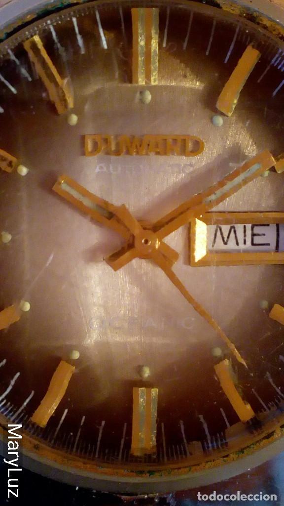Relojes automáticos: DUWARD OCEANIC AUTOMÁTICO. Calendario mensual y semanal. Cristal facetado. - Foto 3 - 74187387
