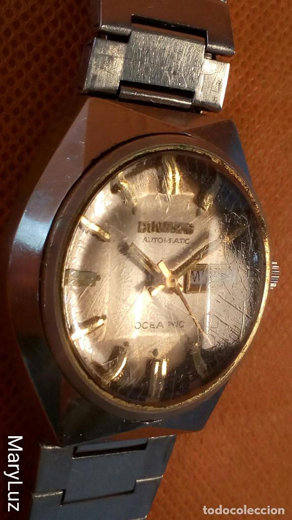 Relojes automáticos: DUWARD OCEANIC AUTOMÁTICO. Calendario mensual y semanal. Cristal facetado. - Foto 5 - 74187387