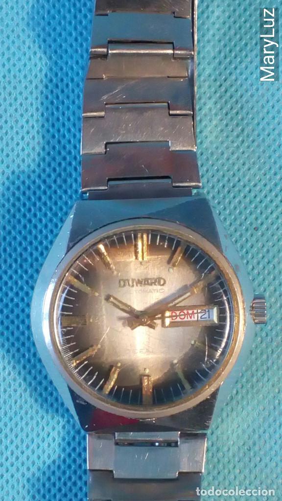 Relojes automáticos: DUWARD OCEANIC AUTOMÁTICO. Calendario mensual y semanal. Cristal facetado. - Foto 6 - 74187387