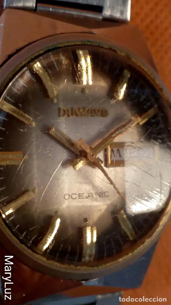 Relojes automáticos: DUWARD OCEANIC AUTOMÁTICO. Calendario mensual y semanal. Cristal facetado. - Foto 7 - 74187387