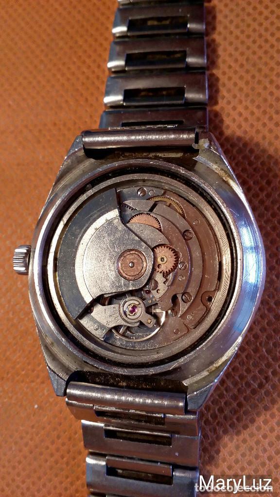 Relojes automáticos: DUWARD OCEANIC AUTOMÁTICO. Calendario mensual y semanal. Cristal facetado. - Foto 9 - 74187387