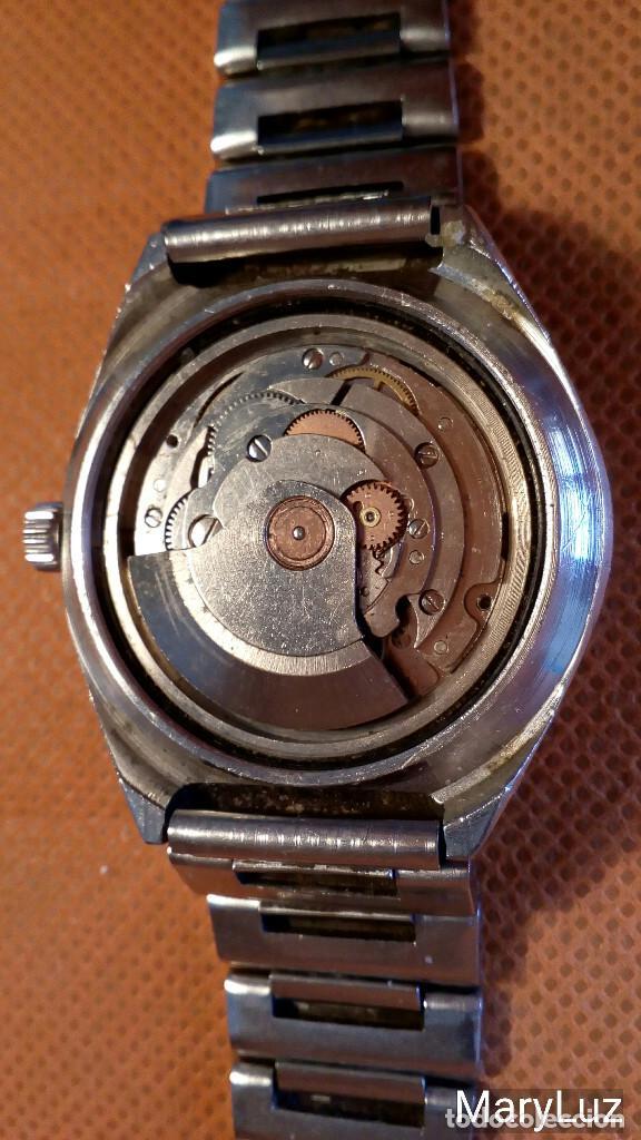Relojes automáticos: DUWARD OCEANIC AUTOMÁTICO. Calendario mensual y semanal. Cristal facetado. - Foto 10 - 74187387