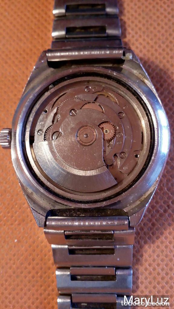 Relojes automáticos: DUWARD OCEANIC AUTOMÁTICO. Calendario mensual y semanal. Cristal facetado. - Foto 11 - 74187387