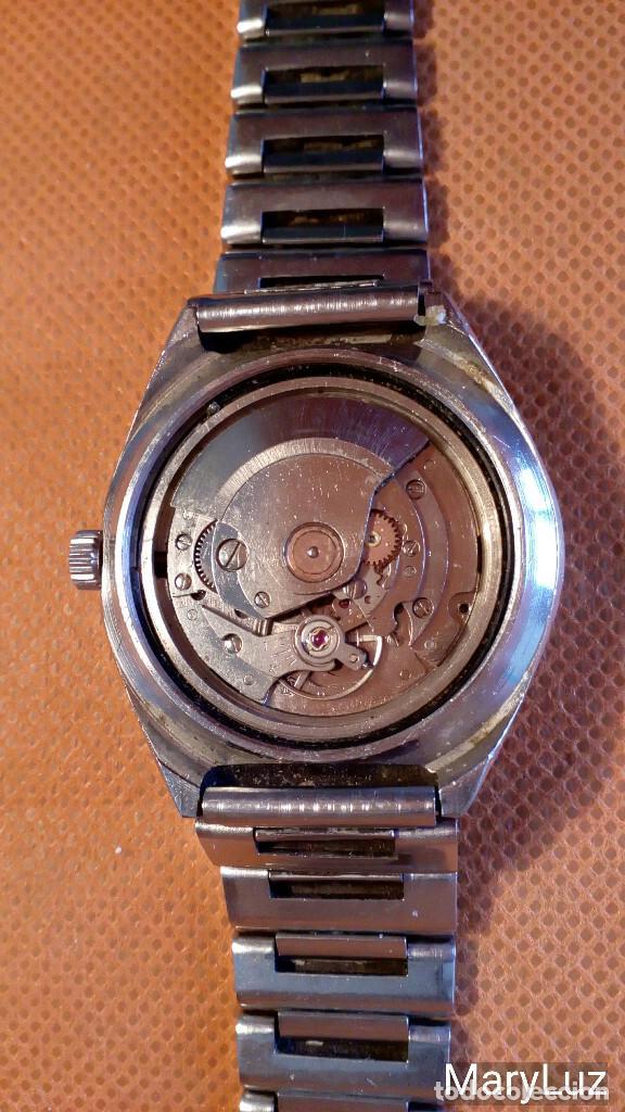 Relojes automáticos: DUWARD OCEANIC AUTOMÁTICO. Calendario mensual y semanal. Cristal facetado. - Foto 12 - 74187387
