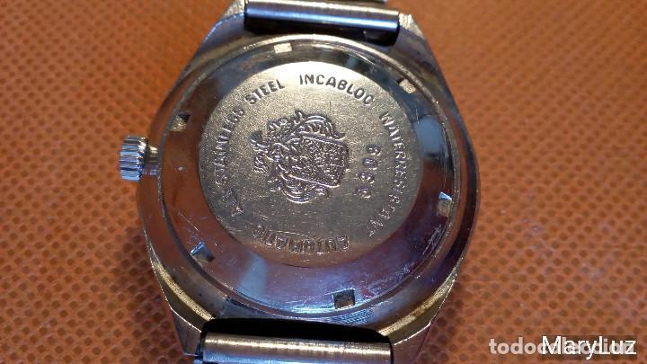 Relojes automáticos: DUWARD OCEANIC AUTOMÁTICO. Calendario mensual y semanal. Cristal facetado. - Foto 13 - 74187387