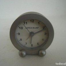 Relojes automáticos: MINI DESPERTADOR LONGCHAMP.. Lote 75779223