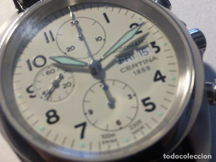 CERTINA DS PILOT AUTOMATIC CHRONOGRAPH - RELOJ DE PILOTO CRONOMETRO AUTOMATICO EN PERFECTO ESTADO (Relojes - Relojes Automáticos)