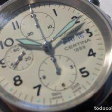 Relojes automáticos: CERTINA DS PILOT AUTOMATIC CHRONOGRAPH - RELOJ DE PILOTO CRONOMETRO AUTOMATICO EN PERFECTO ESTADO. Lote 75982531