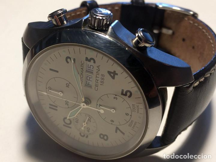 Relojes automáticos: Certina DS Pilot Automatic Chronograph - Reloj De Piloto Cronometro Automatico en Perfecto estado - Foto 5 - 75982531