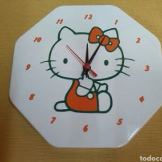 Relojes automáticos: RELOJ DE PARED HELLO KITTY. Lote 76157239