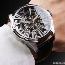 Relojes automáticos: RELOJ AUTOMÁTICO EMPORIO ARMANI MECCANICO, SKELETON. NUEVO!!. Lote 104800287