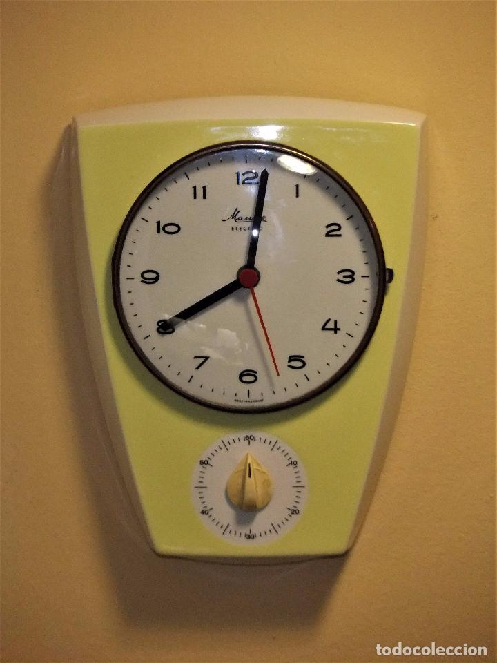 Reloj de cocina con temporizador marca mauthe e - Vendido ...