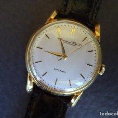 Relojes automáticos: I.W.C. SCHAFFHAUSEN. AUTOMATICO, ORO MACIZO DE 18 KILATES.DIAMETRO 36 MM.. Lote 77348029
