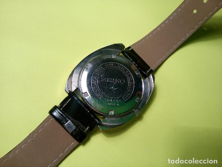 Relojes automáticos: ANTIGUO SEIKO. AÑOS 70. AUTOMATICO - FUNCIONANDO. 41 MM. 19 RUBIS. Nº 380165 DESCRIPCION Y FOTOS - Foto 3 - 84720527
