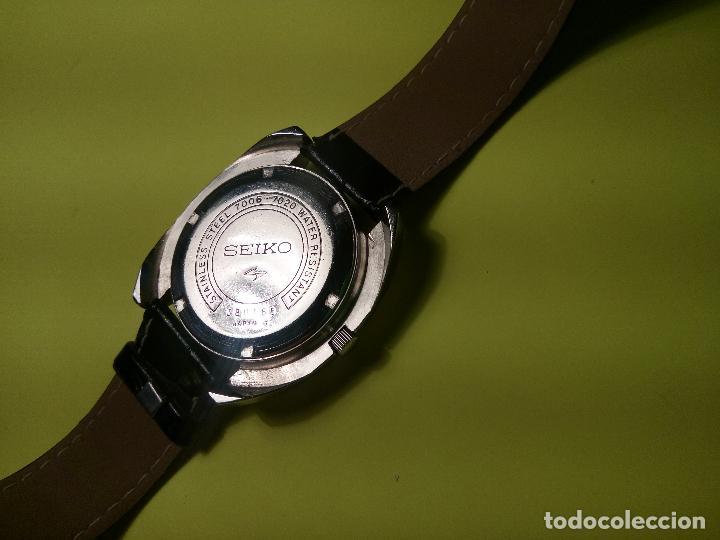 Relojes automáticos: ANTIGUO SEIKO. AÑOS 70. AUTOMATICO - FUNCIONANDO. 41 MM. 19 RUBIS. Nº 380165 DESCRIPCION Y FOTOS - Foto 4 - 84720527