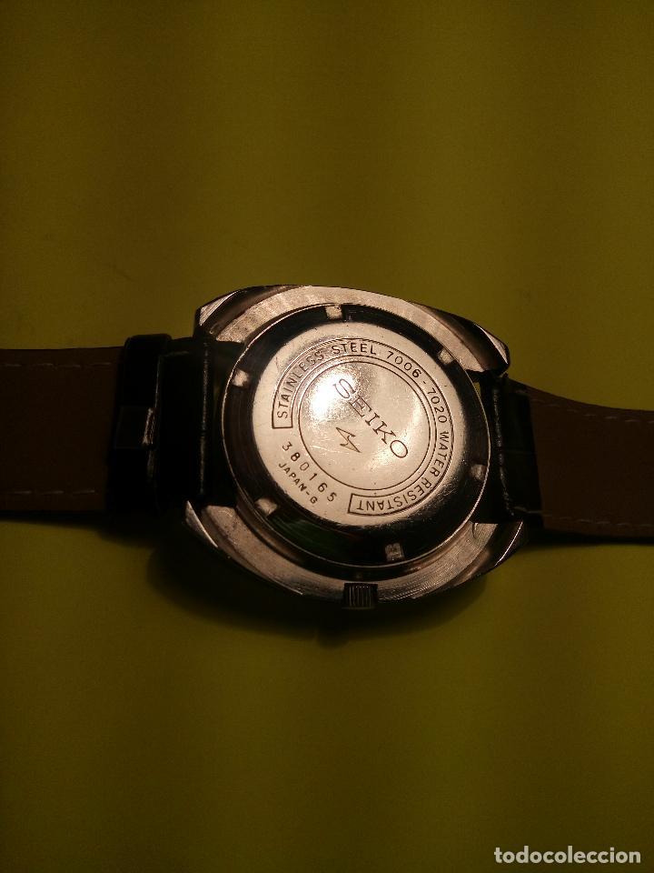 Relojes automáticos: ANTIGUO SEIKO. AÑOS 70. AUTOMATICO - FUNCIONANDO. 41 MM. 19 RUBIS. Nº 380165 DESCRIPCION Y FOTOS - Foto 7 - 84720527
