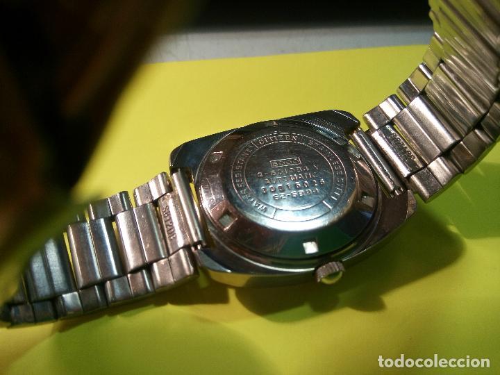 Relojes automáticos: ANTIGUO CITIZEN. AÑOS 70. AUTOMATICO. FUNCIONANDO. 21 R. 37 MM. DESCRIPCION Y FOTOS. - Foto 6 - 77579341