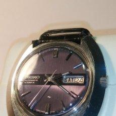 Relojes automáticos: ANTIGUO SEIKO. AÑOS 70. AUTOMATICO - FUNCIONANDO. 41 MM. 19 RUBIS. Nº 380165 DESCRIPCION Y FOTOS. Lote 84720527