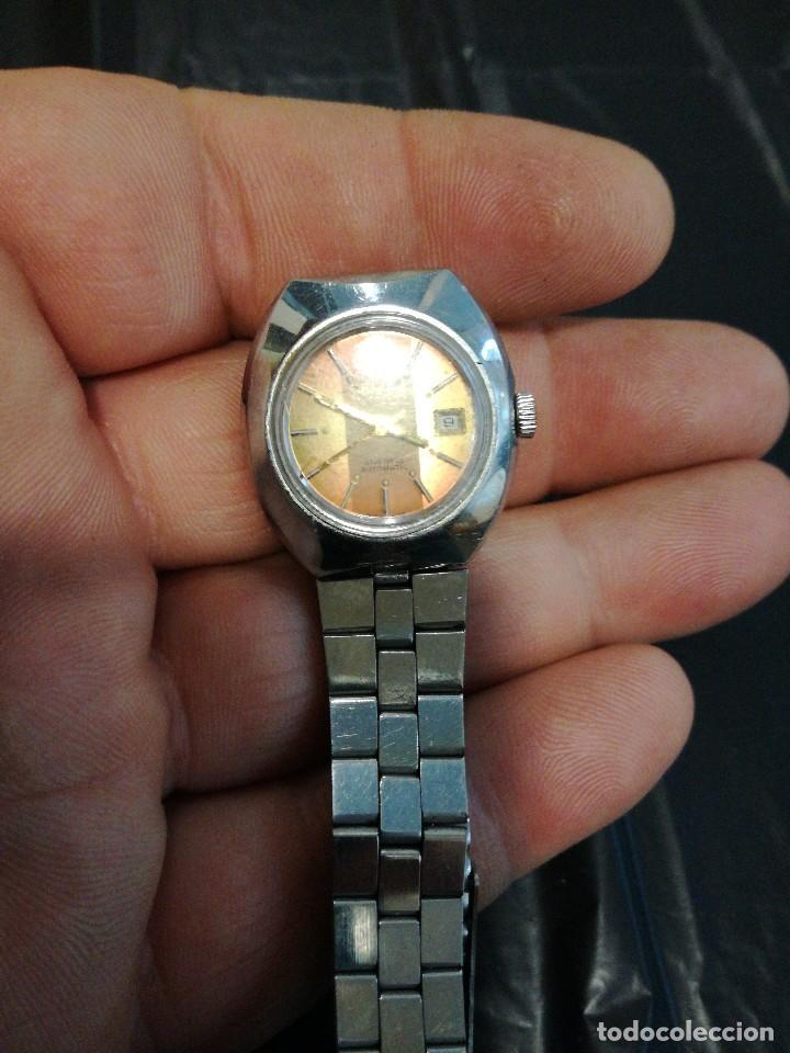 Relojes automáticos: PRECIOSO ORIENT SEÑORA AUTOMATICO, 21RUBIS, ESFERA 3 TONOS. - Foto 6 - 78298941