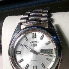 Relojes automáticos: RELOJ SEIKO-5 AUTOMATIC - AÑOS 70. 37 MM. PERFECTO ESTADO Y FUNCIONAMIENTO. DESCRIP. Y FOTOS.. Lote 30050609
