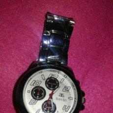 Relojes automáticos: BONITO RELOJ DE QUARZO NUEVO A FALTA DE PILA.AÚN CONSERVA LOS PLÁSTICOS EN CORREA. Lote 78478535