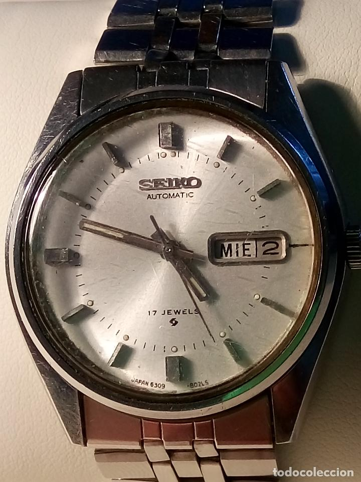 SEIKO AUTOMATICO - . JUNIO 1.977. 38 MM. FUNCIONANDO BIEN. DESCRIPCION Y FOTOS. (Relojes - Relojes Automáticos)