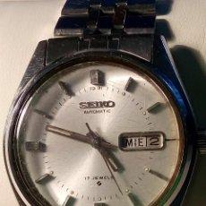 Relojes automáticos: SEIKO AUTOMATICO - . JUNIO 1.977. 38 MM. FUNCIONANDO BIEN. DESCRIPCION Y FOTOS.. Lote 56533559