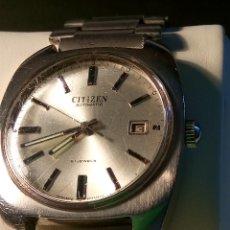 Relojes automáticos: ANTIGUO CITIZEN. AÑOS 70. AUTOMATICO. FUNCIONANDO. 21 R. 37 MM. DESCRIPCION Y FOTOS.. Lote 77579341