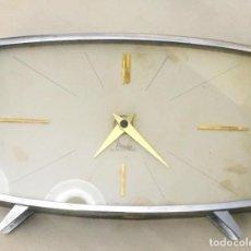 Relojes automáticos: RELOJ DE MESA AÑOS 60 MICRO ELECTRIC. Lote 78622105