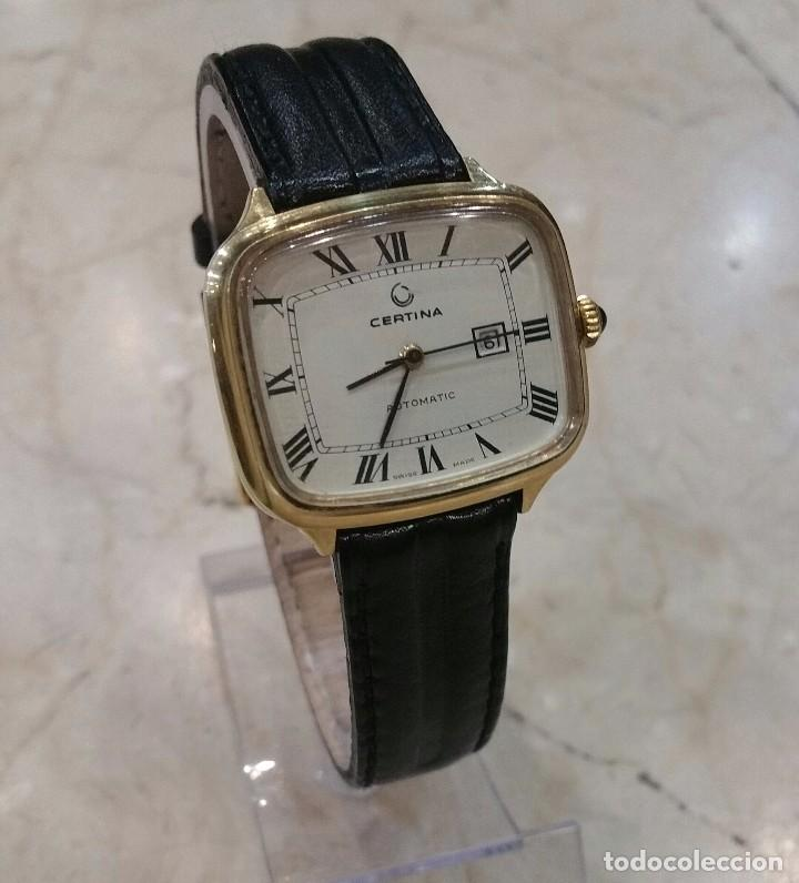 Relojes automáticos: Reloj automatico Certina baño de oro - Foto 2 - 78690989
