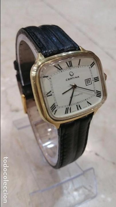 Relojes automáticos: Reloj automatico Certina baño de oro - Foto 4 - 78690989