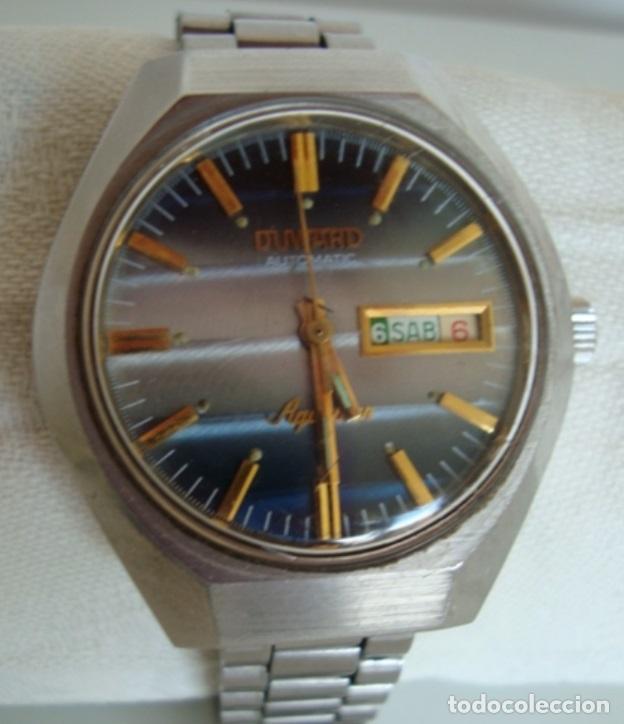 Relojes automáticos: DUWARD OCEANIC AUTOMÁTICO. Calendario mensual y semanal. Cristal facetado. - Foto 14 - 74187387