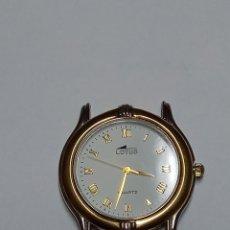 Relojes automáticos: RELOJ DE PULSERA LOTUS QUARTZ, SIN CORREA, FUNCIONANDO. Lote 79640425
