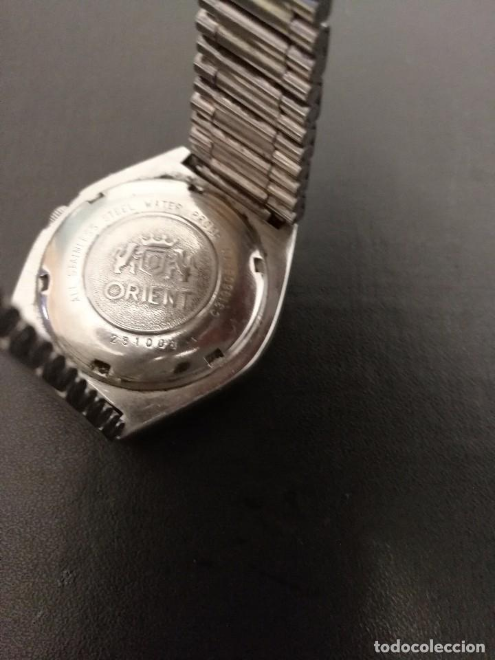 Relojes automáticos: Reloj Orient cristal 21 jewels. - Foto 3 - 79729937