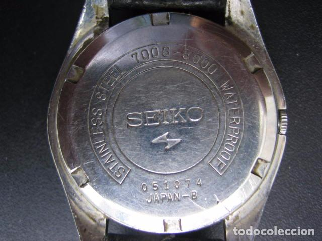 Relojes automáticos: Reloj Seiko automático. Funciona - Foto 7 - 79875233