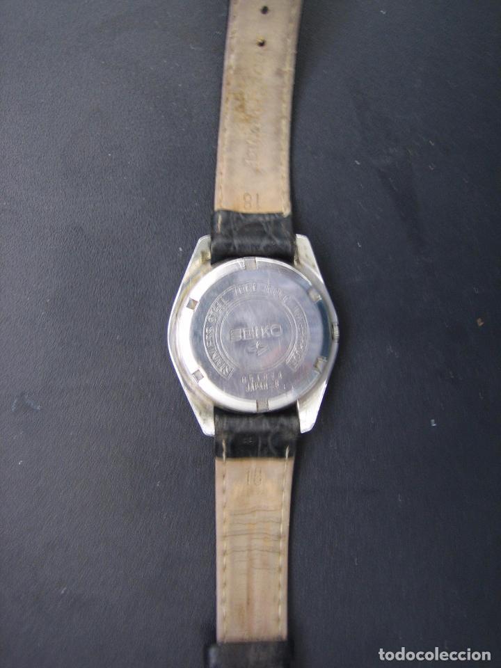 Relojes automáticos: Reloj Seiko automático. Funciona - Foto 10 - 79875233