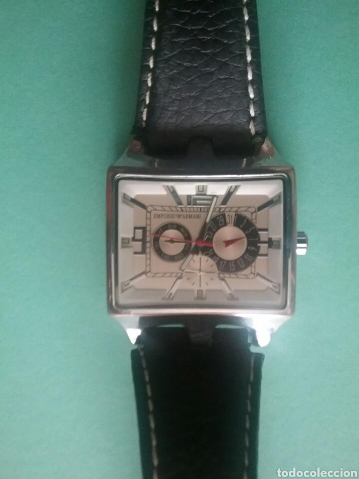 Relojes automáticos: Reloj Emporio Armani cronómetro Acero inoxidable N°56613. - Foto 2 - 80170618