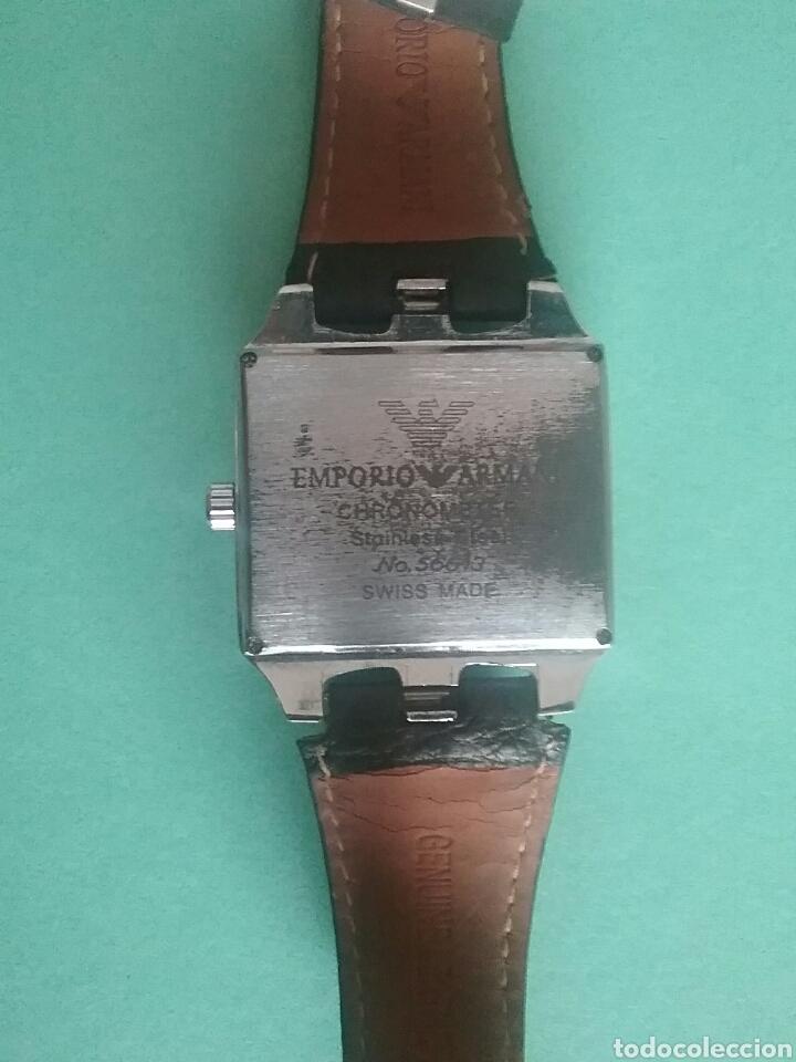 Relojes automáticos: Reloj Emporio Armani cronómetro Acero inoxidable N°56613. - Foto 3 - 80170618