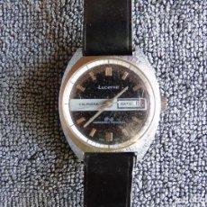 Relojes automáticos: RELOJ LUCERNE DE CABALLERO. SWISS MADE. FUNCIONANDO. UNBEAKABLE MAINSPRIN.. Lote 81304000