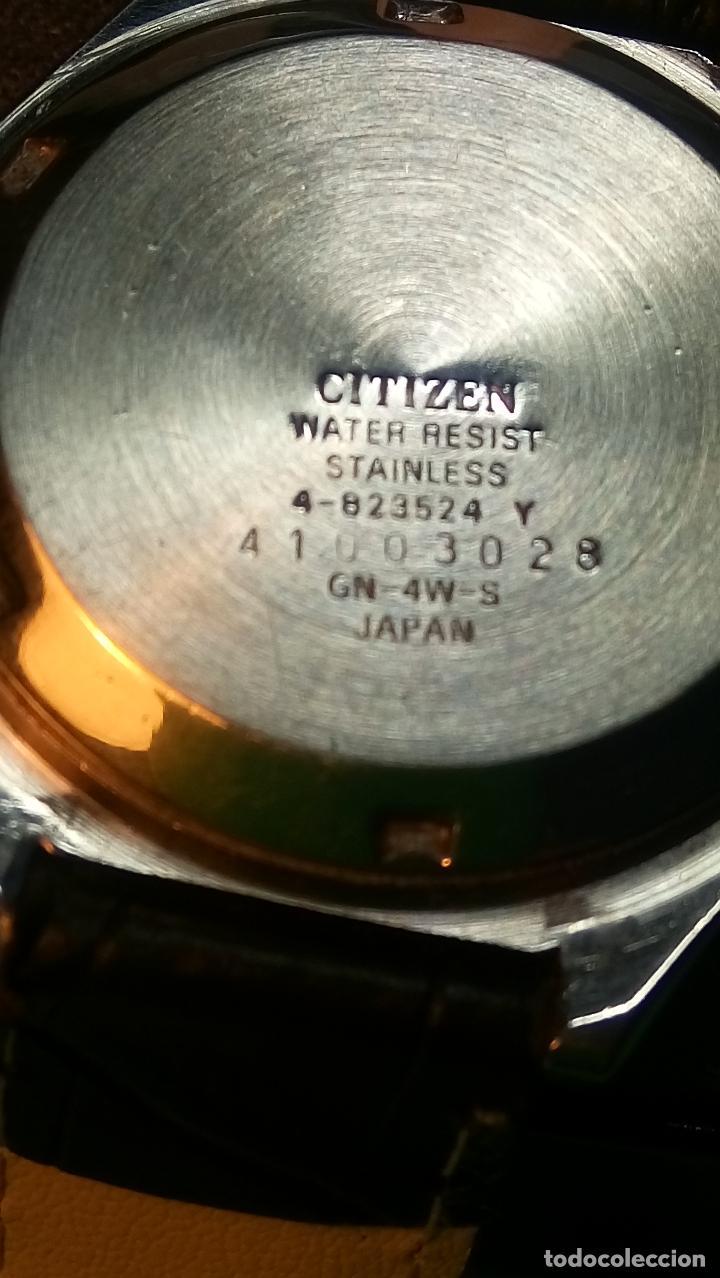 Relojes automáticos: CITIZEN - AUTOMATICO. 21 RUBI. FUNCIONANDO. 37 MM. PERFECTO. DESCRIPCION Y FOTOS. - Foto 10 - 81742968