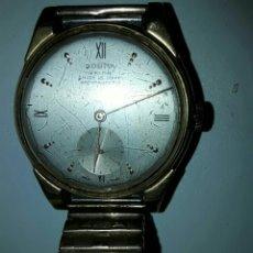 Relojes automáticos: RELOJ DE PULSERA. DOGMA PRIMA. 15 RUBÍS. ANTIMAGNETIC. BAÑO DE ORO LA CAJA Y LA CORREA. FUNCIONA.. Lote 81820699